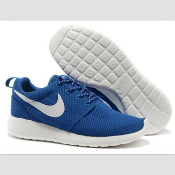 NIKE fashion network sports shoes casual shoes Sapphire blue white