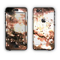 The Bright Gold Cloudy Lights Apple iPhone 6 Plus LifeProof Nuud Case Skin Set