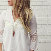 Snow Haven Blouse