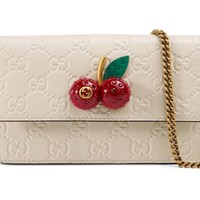 Gucci - Gucci Signature mini bag with cherries