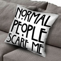 american horror story quote pillow case, Custom Square Pillow Case popular