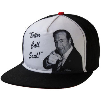 Breaking Bad - Better Call Saul Pointing Snapback Cap