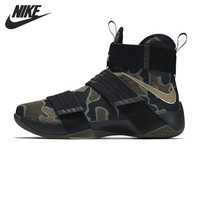 Original New Arrival 2017 NIKE  Men's Camouflage Basketball Shoes Sneakers