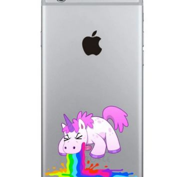 Unique funny Unicorn Phone Case Cover for Apple iPhone 7 7 Plus 5S 5 SE 6 6S 6 Plus 6S Plus + Nice gift box! LJ161005-005