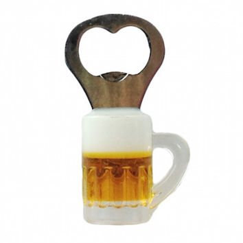 Magnetic Bottle Opener Beer Mug