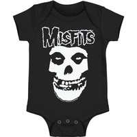 Misfits Boys' Bodysuit Black