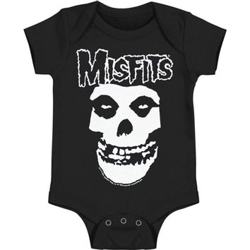 Misfits Boys' Bodysuit Black Rockabilia