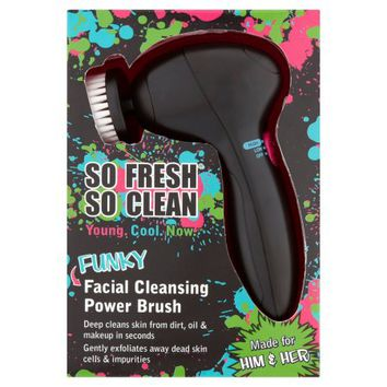 So Fresh So Clean Funky Facial Cleansing Power Brush - Walmart.com