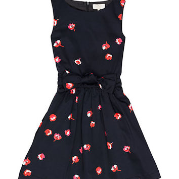 Kate Spade Girls' Swift Dress Black Wonderful Floral