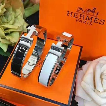 Hermes 2018 new classic H buckle female models beautiful fashion bracelet