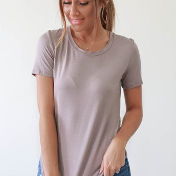 Better Than Ever Tee - Taupe