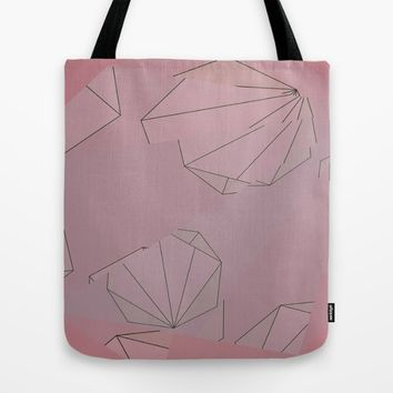 Shapes Shifted Tote Bag by Ducky B