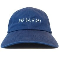 Bad Hair Day Adjustable Baseball Cap Unstructured Dad Hat - 100% Cotton - More Colors