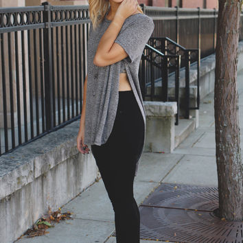All That Tunic - Charcoal