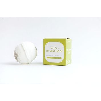 Old Whaling Co. - Seaweed + Sea Salt Bath Bomb