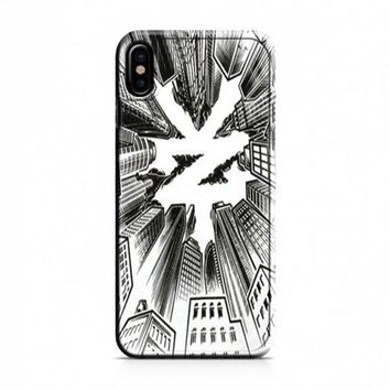 ZOO YORK URBAN WHITE iPhone X Case