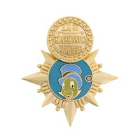 Disney Parks Official Conscience Jiminy Cricket Pin New with Card