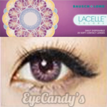 Bausch & Lomb LACELLE Colors Jubilee Violet