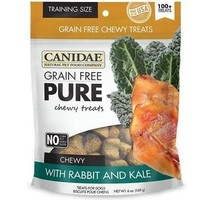 Canidae Pure Rabbit & Kale Chewy Dog Treats 6 oz