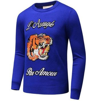 Gucci New Fashion Couple Long Sleeve Top Sweater Pullover
