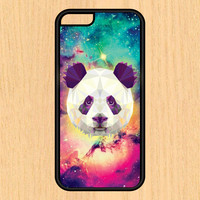 Abstract Panda in Space Phone Case iPhone 4 / 4s / 5 / 5s / 5c /6 / 6s /6+ Apple Samsung Galaxy S3 / S4 / S5 / S6
