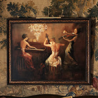 "Rosenbaum Fine Art - ""Rhapsody In Twilight"" Painting - Horchow"