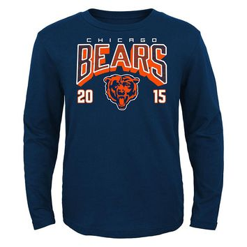 Chicago Bears Itinerary Tee - Boys 8-20, Size: