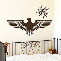Wall Decals Eagle Bird Predator Decal Nursery Boy Room Vinyl Sticker Decor MR416