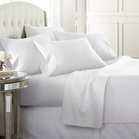 6 Piece Bed Sheets Set Luxury Soft 1800 Deep Pockets Hypoallergenic Bedding