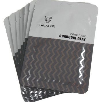 LALAFOX Premium Charcoal Clay Face Mask - 7 Pack Set – Daily Skin Facial Beauty Products
