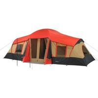 Ozark Trail 10-Person 3-Room Cabin Tent w/ Front Porch - Walmart.com