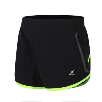 Mens Running Shorts Polyester Sports Shorts for Men Loose Gym Trunks Jogging Short Trousers Plus Size Man Marathon Breeches
