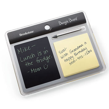 Boogie Board Memo Paperless Notepad at Brookstone—Buy Now!