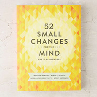 52 Small Changes: One Year To A Happier, Healthier You By Brett Blumenthal - Urban Outfitters