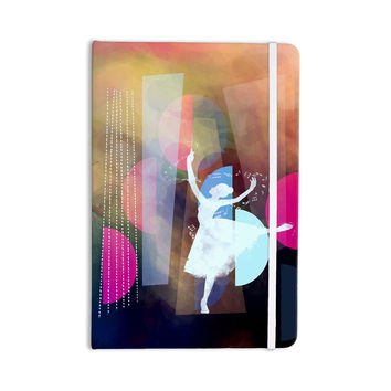 "AlyZen Moonshadow ""PINK BALLET"" Multicolor Geometric Everything Notebook"