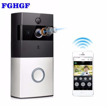 WiFi - Wireless Intercom Doorbell Video Camera with Night Vision with 2 Way Audio