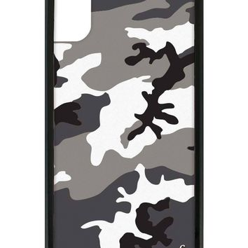 Black Camo iPhone X Case