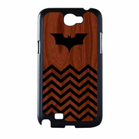Batman And Black Chevron Samsung Galaxy Note 2 Case