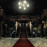 Resident Evil Spencer Mansion video game poster 24x18