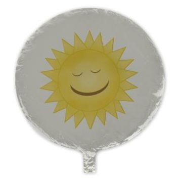 Smiling Sunshine Mylar Balloon> Smiling Sun> KCavender Designs