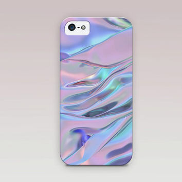 Holographic Printed Phone Case For - iPhone 6 Case - iPhone 5 Case - iPhone 4 Case - Samsung S4 Case