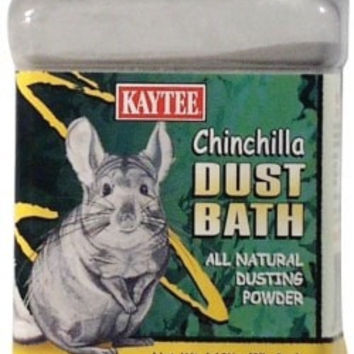 SMALL ANIMAL - GROOMING - CHINCHILLA DUST 2.5# JAR -  - CENTRAL - KAYTEE PRODUCTS, INC - UPC: 71859224138 - DEPT: SMALL ANIMAL PRODUCTS