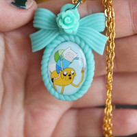 Adventure Time - Finn & Jake - Best Buddies Necklace