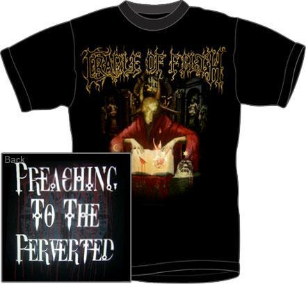 cradle of filth t shirt preaching to from rockworldeast metal. Black Bedroom Furniture Sets. Home Design Ideas