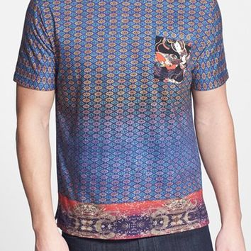 Men's Robert Graham 'Buddha' Graphic Print T-Shirt,