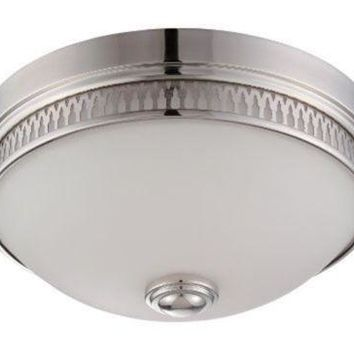 "Nuvo 62-321 - 13"" Flush Mount LED Ceiling Lights in Polished Nickel Finish"