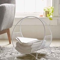 Circle Wire Magazine Rack