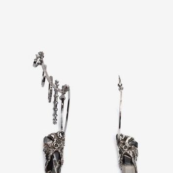 Duo Set Earrings | Alexander McQueen