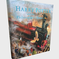 Harry Potter and the Philosopher's Stone Illustrated by Jim Kay