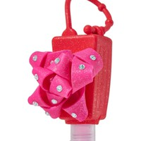 PocketBac Holder Pink & Red Glitter Bow